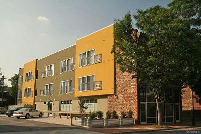 Richmond Condo/Townhouse For Sale: 516 N 2nd Street #3c