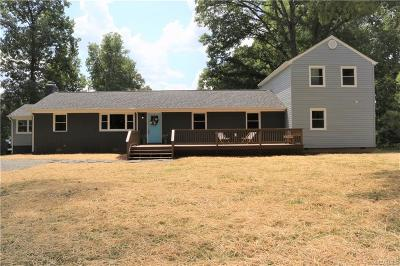 Powhatan County Single Family Home For Sale: 2335 Mountain View Road