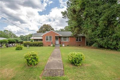 Petersburg Single Family Home For Sale: 468 Pine Ridge Road