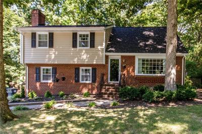 Dinwiddie Single Family Home For Sale: 9708 S Verlinda Court