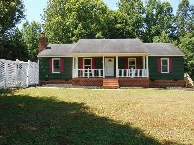 Goochland Single Family Home For Sale: 2674 Dogtown Road