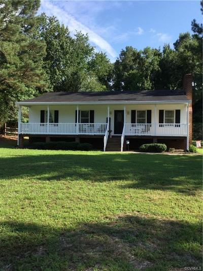 King William Single Family Home For Sale: 308 Poplar Road