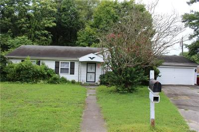 Petersburg Single Family Home For Sale: 1332 Concord Drive