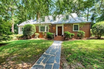 Petersburg Single Family Home For Sale: 1765 Fairfax Street