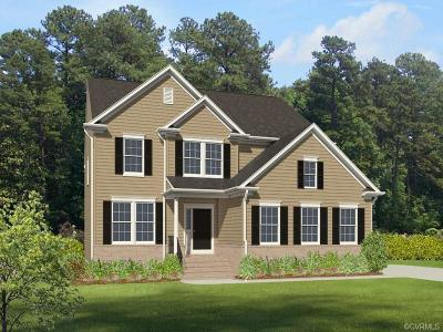 Chester Single Family Home For Sale: 12000 Rolling Tide Court