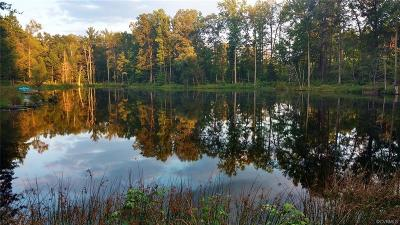 Amelia County Land For Sale: 11.6 Acres Military Road