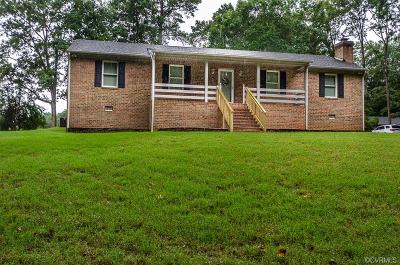 Goochland Single Family Home For Sale: 619 Broad Street Road