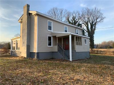 Hanover Single Family Home For Sale: 16342 Mountain Road