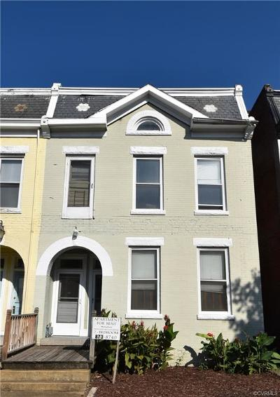 Richmond Single Family Home For Sale: 30 S Davis Avenue
