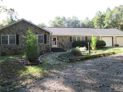 Goochland Single Family Home For Sale: 3775 County Line Road
