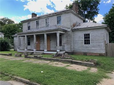 Petersburg Single Family Home For Sale: 1151 W High Street