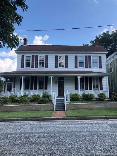 King William County Single Family Home For Sale: 440 4th Street