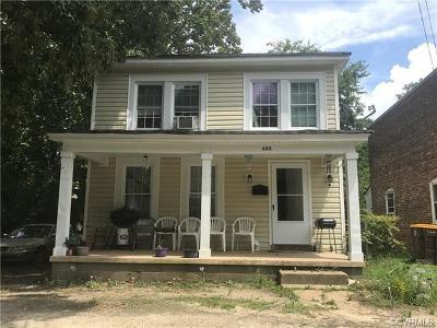 Single Family Home For Sale: 655 Pegram Street