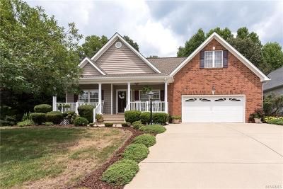 Chester Single Family Home For Sale: 4312 Maughan House Terrace
