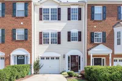Midlothian Condo/Townhouse For Sale: 13512 Ridgemoor Drive