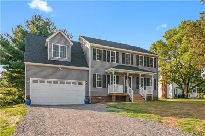 Mechanicsville Single Family Home For Sale: Lot 1 McCauley Lane