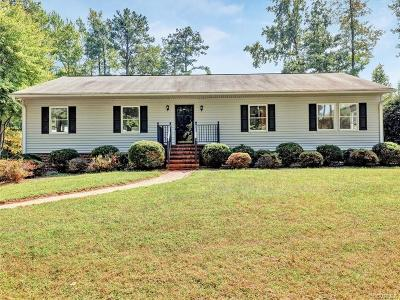 Hanover County Single Family Home For Sale: 9489 Sliding Hill Road