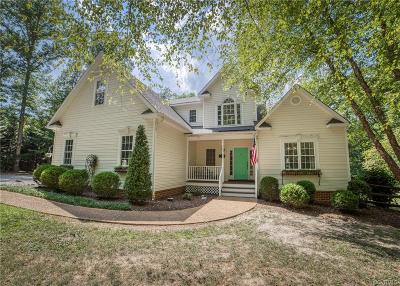 Powhatan County Single Family Home For Sale: 1625 Mill Quarter Road