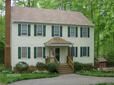Chesterfield County Rental For Rent: 13917 Barnes Spring Road