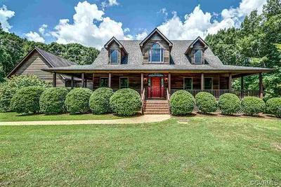Louisa Single Family Home For Sale: 6031 Byrd Mill Road