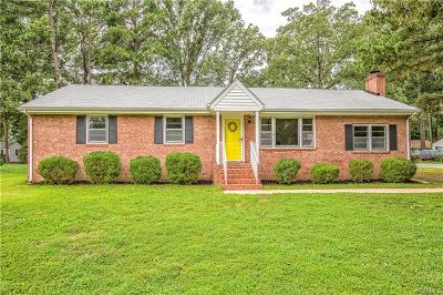 Henrico County Single Family Home For Sale: 8412 Colebrook Road