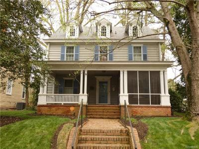 Petersburg Single Family Home For Sale: 1631 Berkeley Avenue