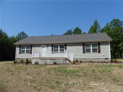 Nottoway County Single Family Home For Sale: 7232 Lewiston Plank Road