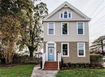 Richmond Single Family Home For Sale: 2120 Rose Avenue