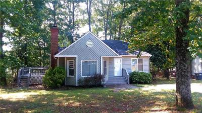Chesterfield County Rental For Rent: 4807 Mason Hollow Drive
