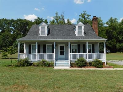 King William County Single Family Home For Sale: 47 Mitchells Mill Road
