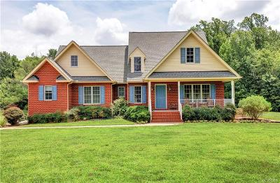 Hanover County Single Family Home For Sale: 16317 Old Ridge Road