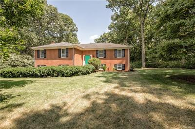 Midlothian Single Family Home For Sale: 2701 Salisbury Road