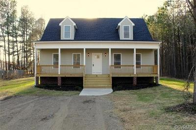 Chesterfield County Rental For Rent: 15520 Happy Hill Road