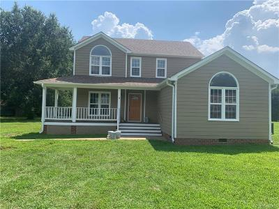Henrico Single Family Home For Sale: 3929 Three Foxes Drive