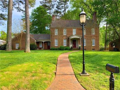 Henrico County Single Family Home For Sale: 301 Burnwick Road