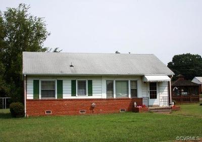 Henrico Single Family Home For Sale: 1712 Lyndover Road