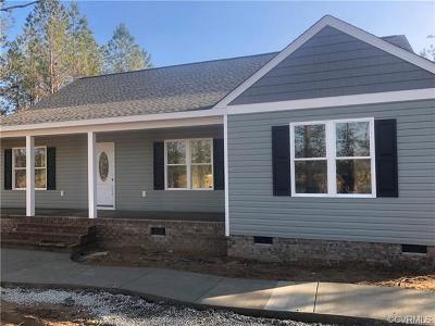 New Kent Single Family Home For Sale: 8966 Rock Cedar Road