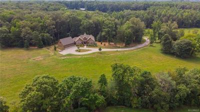 Hanover County Single Family Home For Sale: 16385 Beaver Dam Road