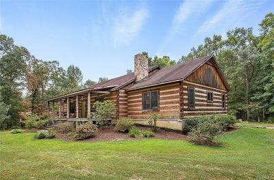 Goochland Single Family Home For Sale: 3969 Hadensville Fife Road