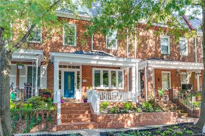 Richmond Single Family Home For Sale: 208 S Addison Street