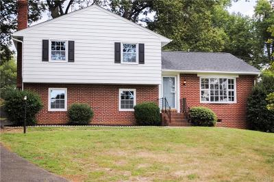 Henrico Single Family Home For Sale: 9013 Lydell Drive