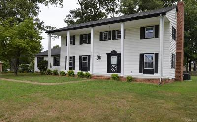 Hopewell Single Family Home For Sale: 3839 River Road