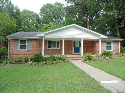 King William County Single Family Home For Sale: 1902 F Street