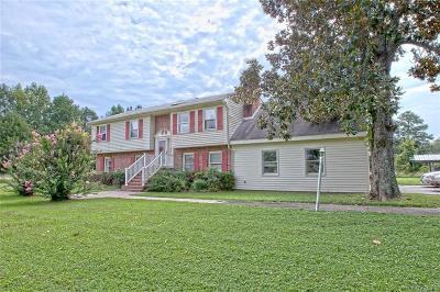 Charles City Single Family Home For Sale: 12041 The Glebe Lane
