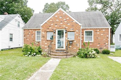 Colonial Heights Single Family Home For Sale: 317 Moorman Avenue