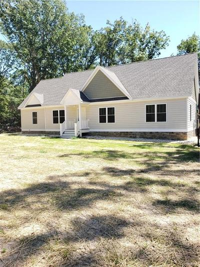 Heathsville Single Family Home For Sale: Eagles Nest Lane