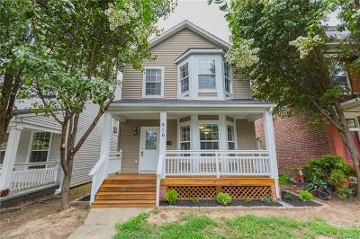 Richmond Single Family Home For Sale: 916 N 36th Street