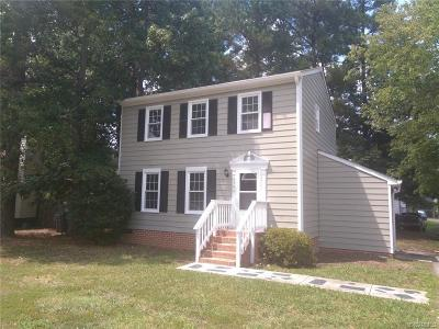 Chesterfield County Rental For Rent: 6504 W Banes Court