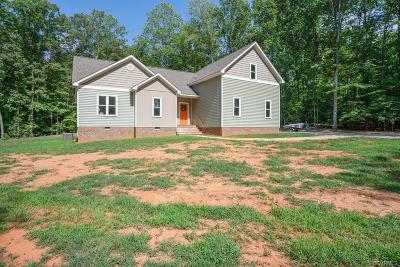 Powhatan County Single Family Home For Sale: 2672 New Timber Way