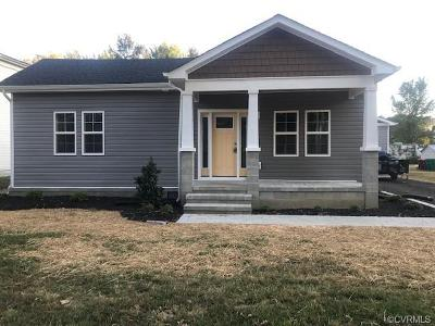 Colonial Heights VA Single Family Home For Sale: $199,900
